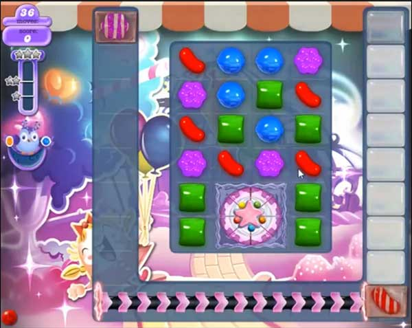 candy crush dreamworld level 584