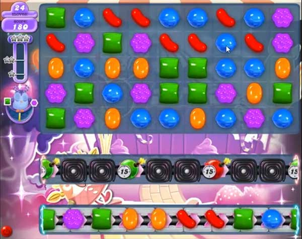 candy crush dreamworld level 585