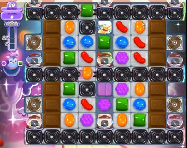 candy crush dreamworld level 588