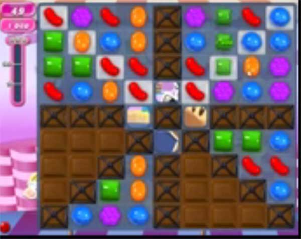candy crush level 1313