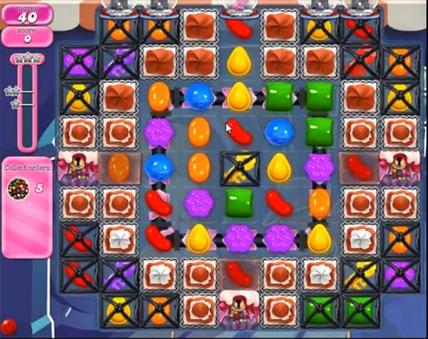 candy crush level 834
