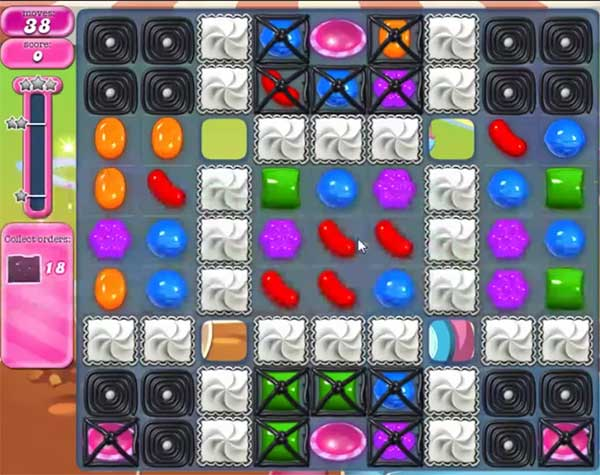 candy crush level 848