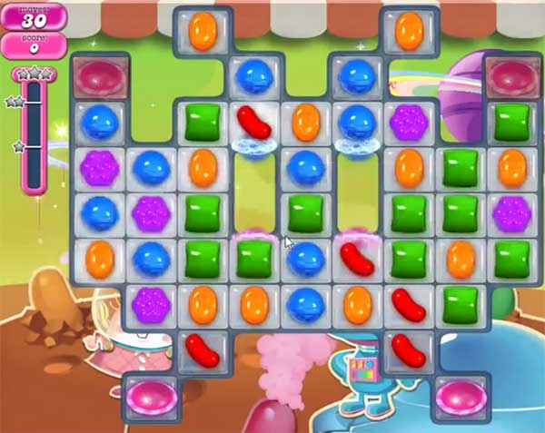 candy crush level 850