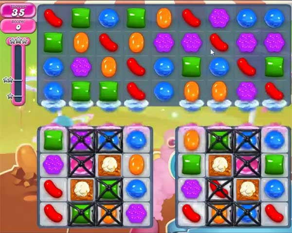 candy crush level 854
