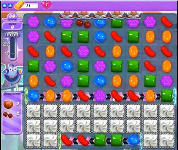 candy crush dreamworld level 592