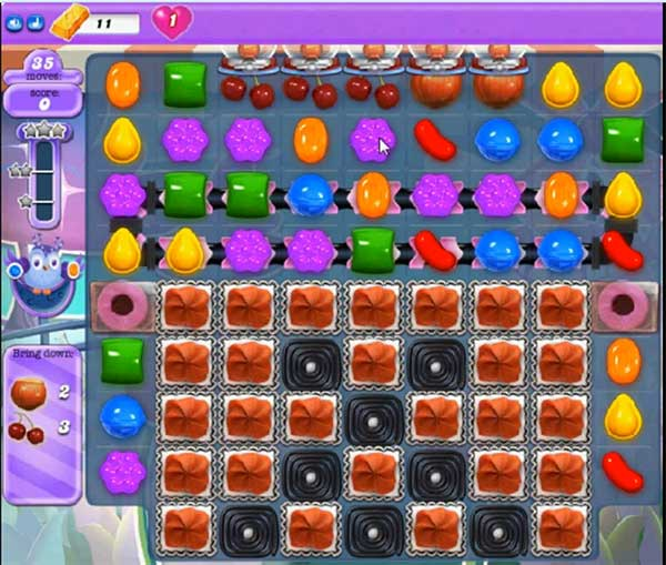 candy crush dreamworld level 598