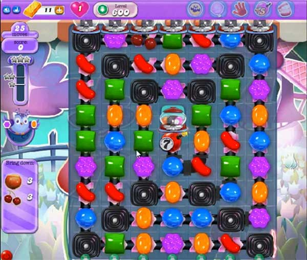 candy crush dreamworld level 600