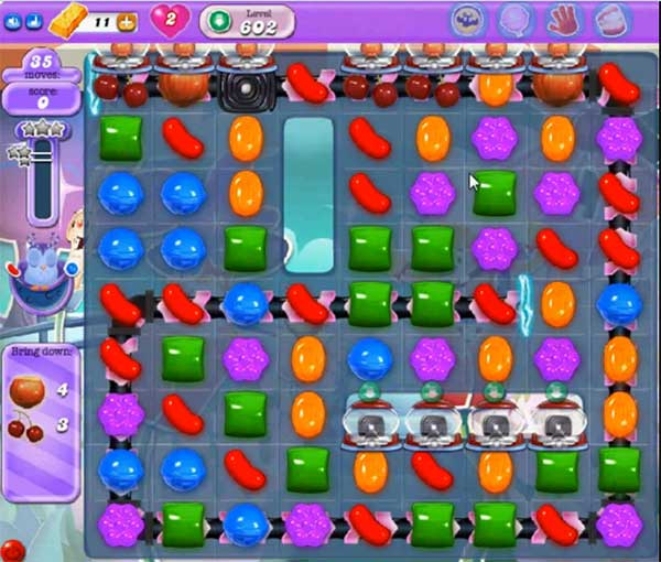 candy crush dreamworld level 602