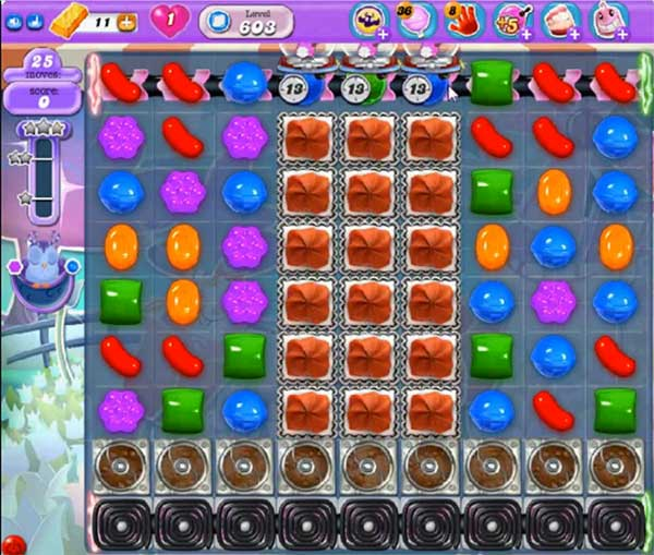 candy crush dreamworld level 603
