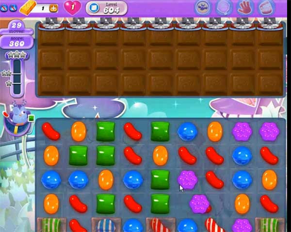 candy crush dreamworld level 604