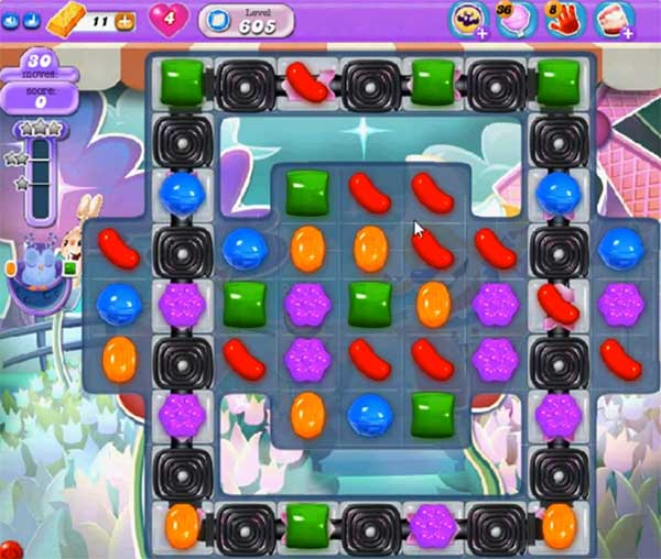 candy crush dreamworld level 605