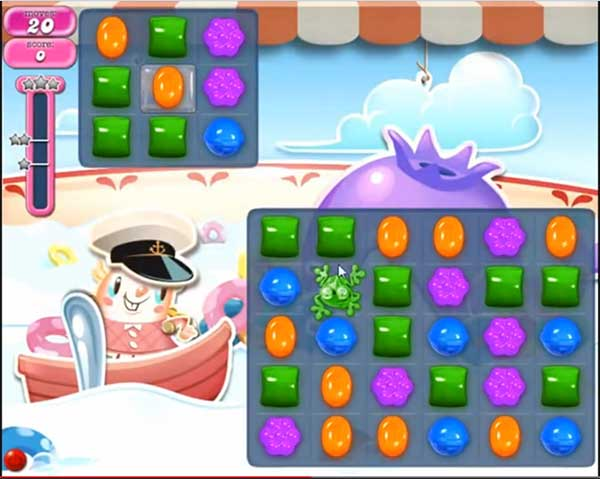 candy crush dreamworld level 606