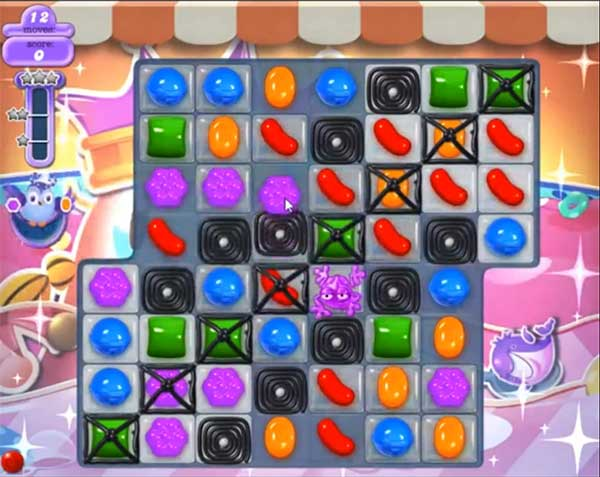 candy crush dreamworld level 607