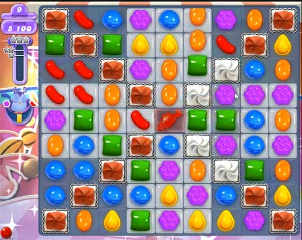candy crush dreamworld level 608