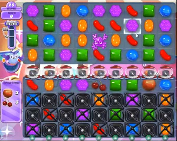 candy crush dreamworld level 611