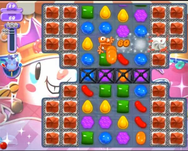 candy crush dreamworld level 612