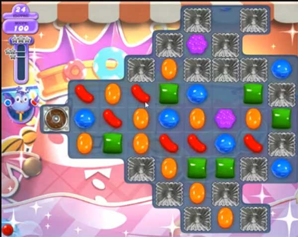 candy crush dreamworld level 613