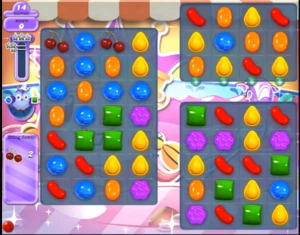 candy crush dreamworld level 614