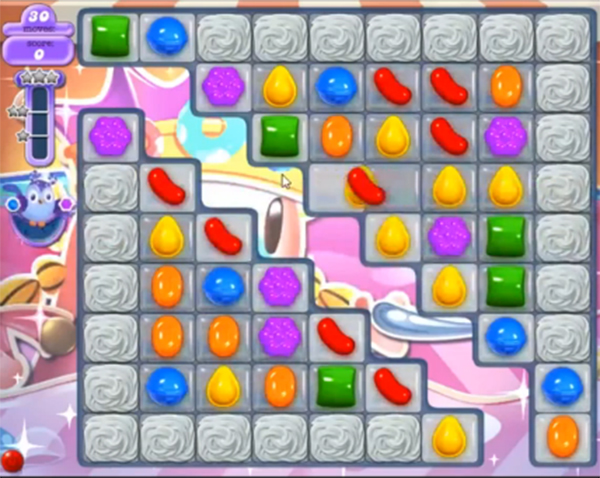 candy crush dreamworld level 617