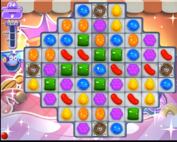 candy crush dreamworld level 618