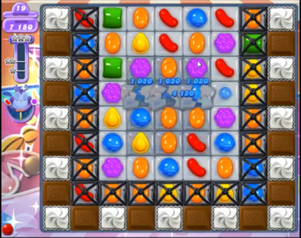 candy crush dreamworld level 619
