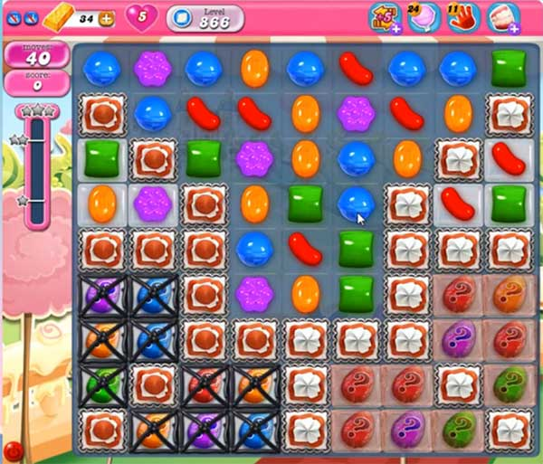 candy crush level 866