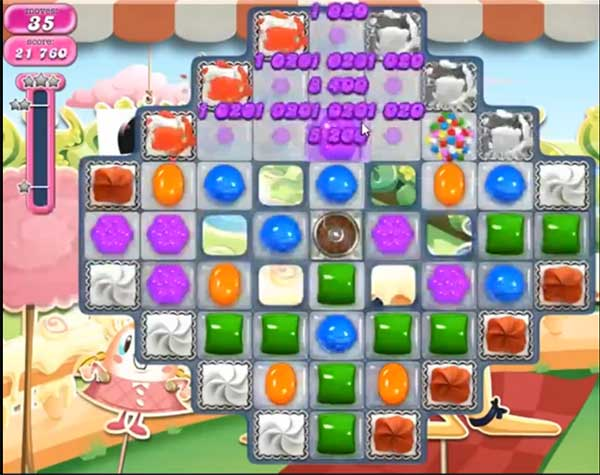 candy crush level 874