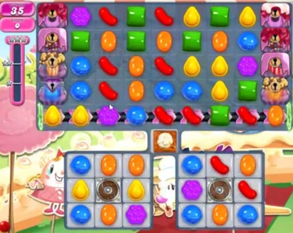 candy crush level 875