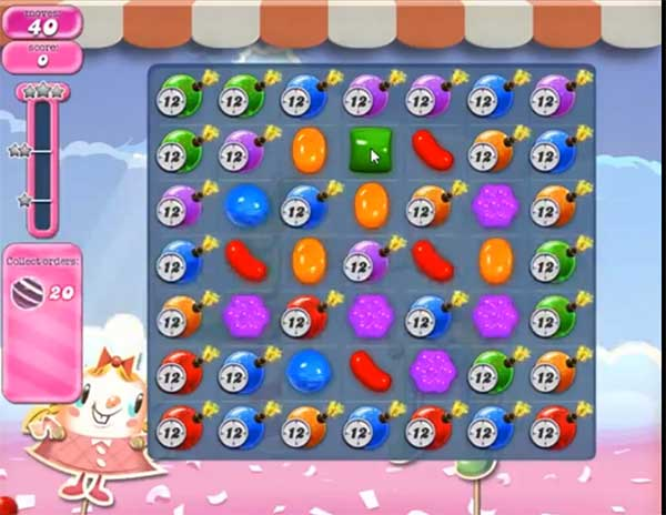 candy crush level 885