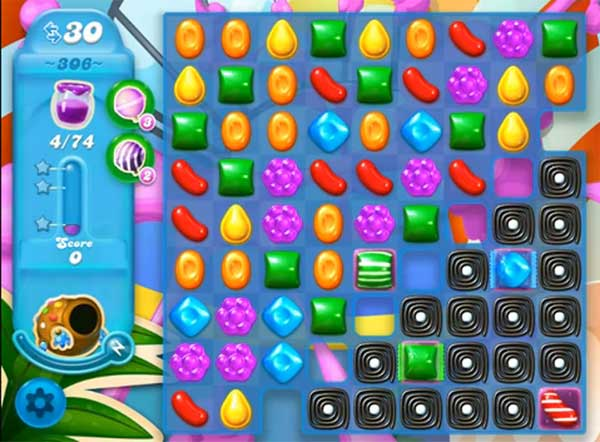 candy crush soda level 306