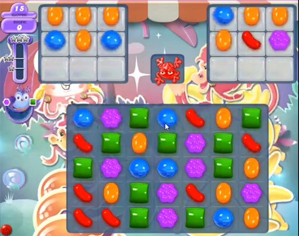 candy crush dreamworld level 621