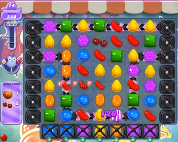 candy crush dreamworld level 623