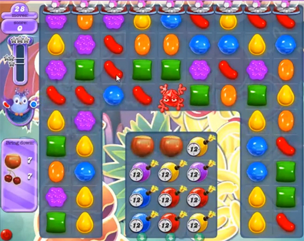 candy crush dreamworld level 624