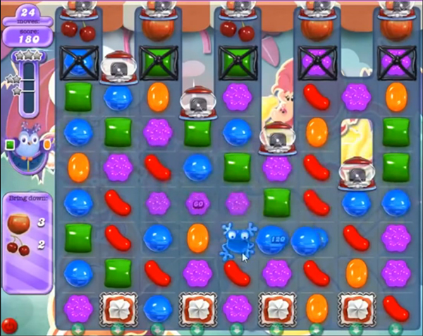candy crush dreamworld level 629
