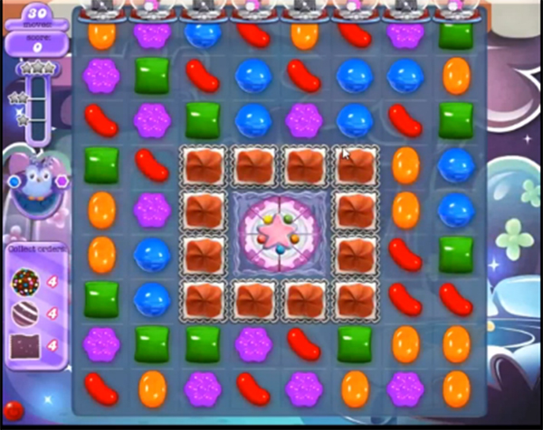 candy crush dreamworld level 639