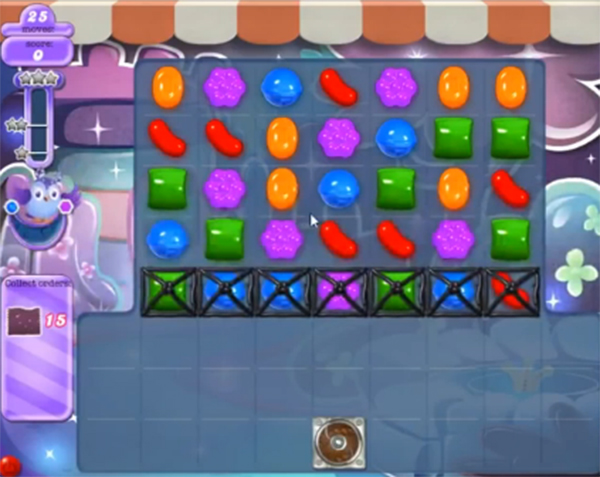 candy crush dreamworld level 640