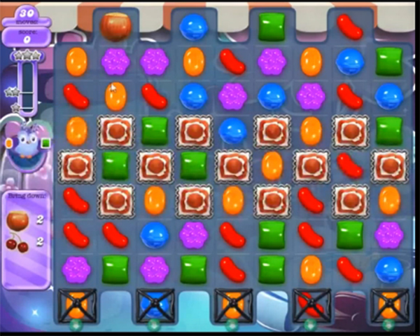 candy crush dreamworld level 644