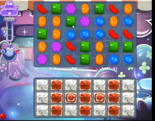 candy crush dreamworld level 649