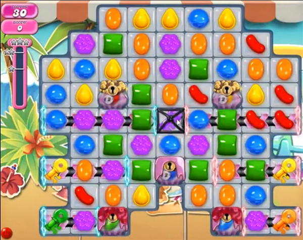 candy crush level 891