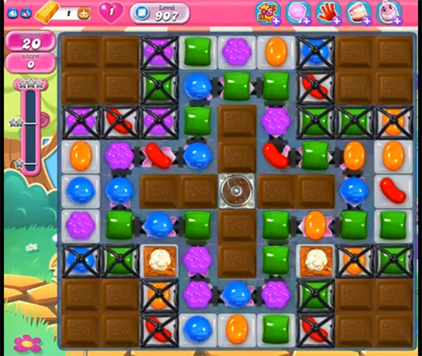 candy crush level 907
