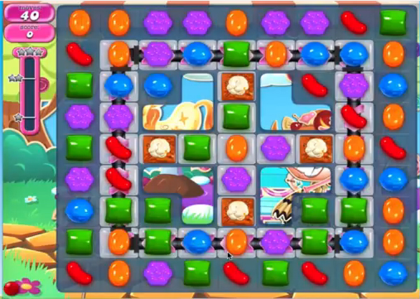 candy crush level 908