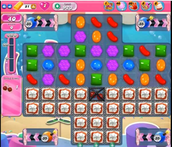 candy crush level 923