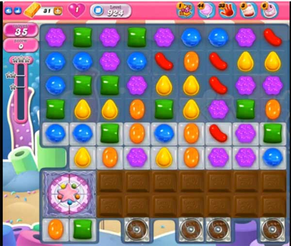 candy crush level 924