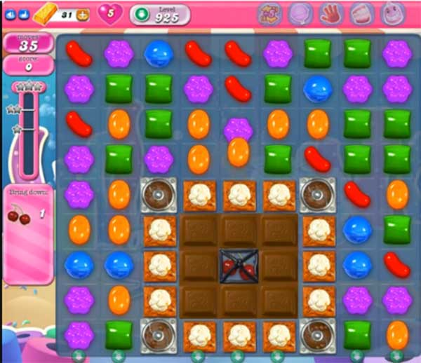 candy crush level 925