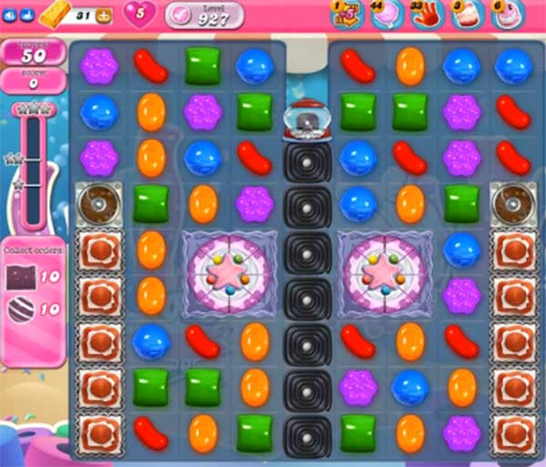candy crush level 927
