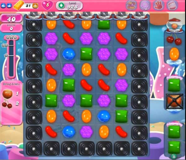 candy crush level 928