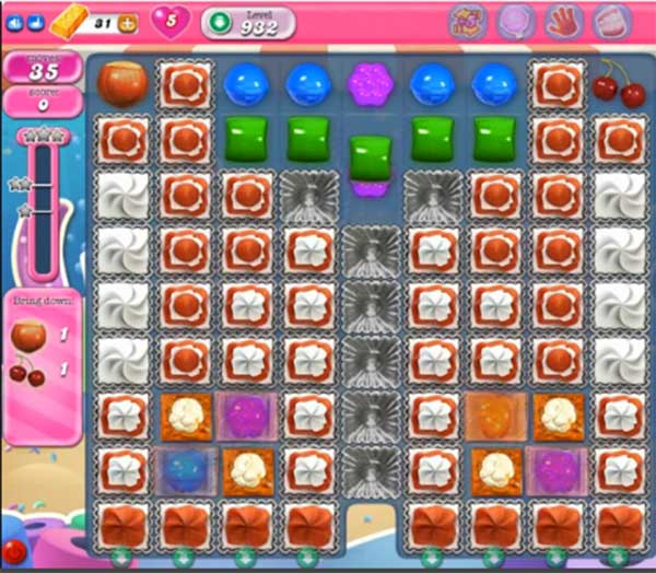 candy crush level 932