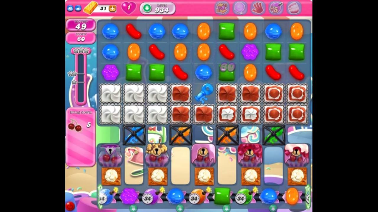 candy crush level 934