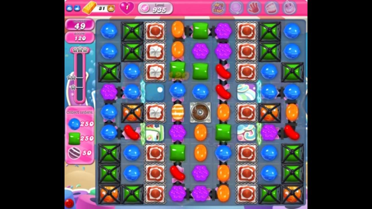 candy crush level 935