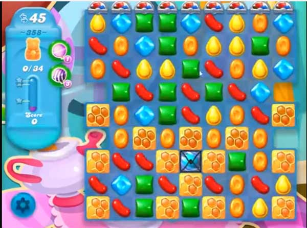 candy crush soda level 358